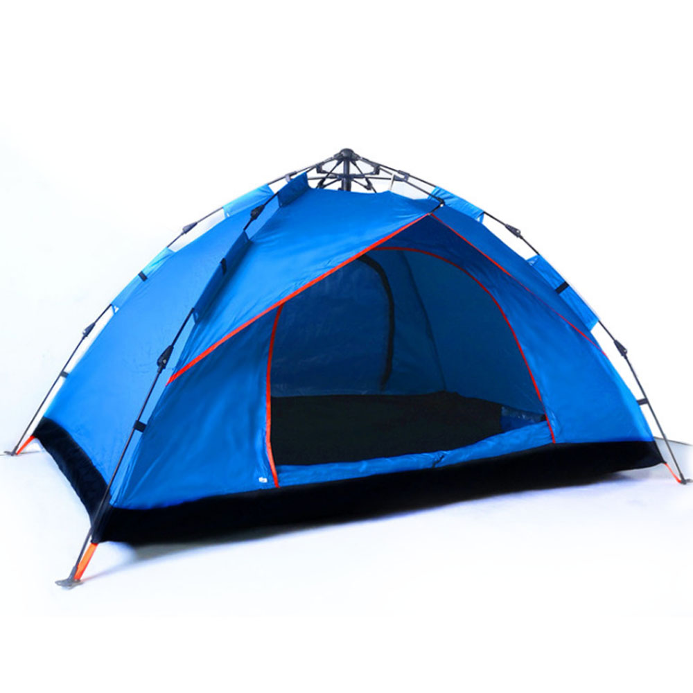 Quickly Pop Up Opening Automatically Tent for Two to Four People, High Quality 180T Sunscreen Proof Material Camping Tent for Beach Traveling Hiking