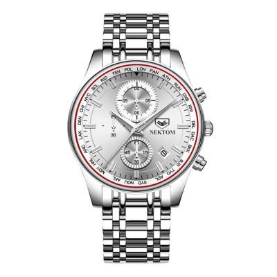 Men's Quartz Watch Multifunctional Waterproof Wrist Watch Scratch Proof Fashion Accessory Watch