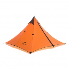 Naturehike Rain-proof Camping Tent Ultra-Light Outdoor Double-Layer Silica Single Tower Sky Tent