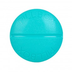 Macaron Color Round 4 Section Pill Box Portable Small Week Travel Dispensing Drug Storage Mini Box