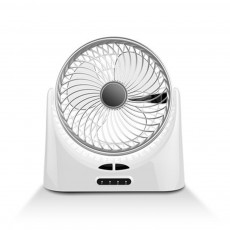 Portable Mini Chargeable Silence Table Cooling Fan Household Office Dormitory Rotation Circulation Fan