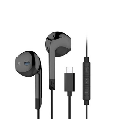 Quality Type-c Huawei P20 pro Xiaomi 8 se Wired In-ear Earphone, Delicate Mega Bass Denoise Wired Ear phone for Android Smart Phone