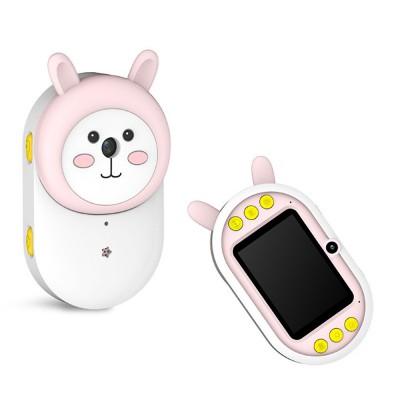 Cute Rabbit Magic Eyes Childrens' Wifi HD Camera 2.4 Inch Wifi-Connected New 2 Lens 800W HD Kids Camera