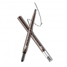 2 In 1 Eyebrow Pencil And Eyebrow Powder, Eyebrow Pencil Powder With Automatic Rotation Waterproof And Sweat-proof