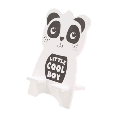 Creative Cute Cartoon Animal Model Mobile Phone Supporter, Touch Wood-Plastic Board Tablet Computer Holder