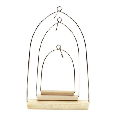 Portable Parrot Standing Habitat Frame Parrots Training Swing Frame Bird Walking Stand
