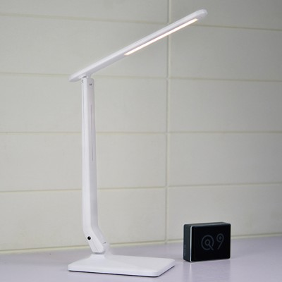 LED Touch Dimming Lamp Eye-protection Lamp for Study Chargeable Bedside Lamp for Children