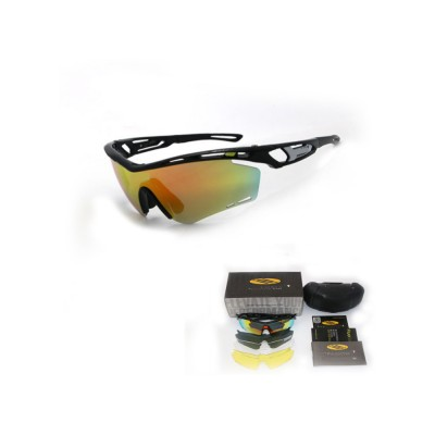 Colourful Outdoor Biking Glasses Sports Outdoor POC Riding Glasses Sandproof Sunglasses