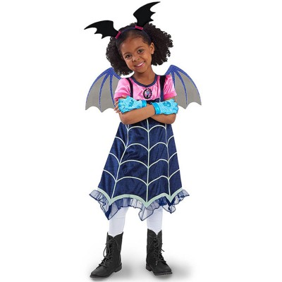 Halloween Christmas Costume Vampire Cos play Costumes Vampire Cos Play Girls Dresses Kids Fancy Party Dress For Girl Street Wear