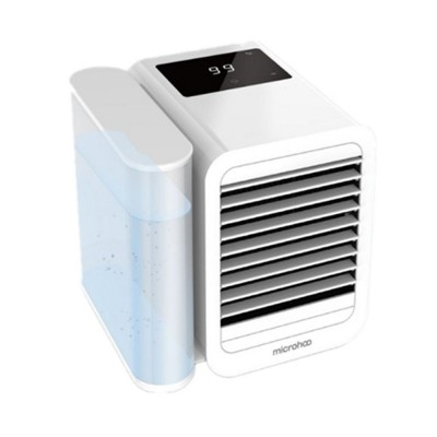 Tinkleo Small Household Desktop Air-cooler Fan Portable Three-in-one Mini Air Cooler Conditioning Fan 99 Wind Gear 1 Liter Water Tank Cool To 13 Degrees