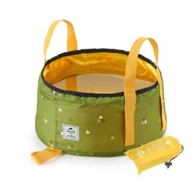 NH Folding Washbasin Water Bucket Environmental PVC Portable Outdoor Hot Water Travel Foot Basin