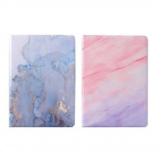 TPU Leather Protective Flip Cover Cases Silicone Soft Shell Marble Pattern Flat Set For iPad Pro 9.7 Inch, Air 1 2, Mini 5 4 3 2, 2018 New iPad