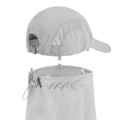 Fisherman Sunhat UPF 50+ UV Protection Unisex Outdoor Face Neck Mask Protection Summer Bucket Hat Peaked Cap