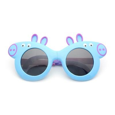 Foldable Piggy-style Children's Sunglasses High-end Upgrade Sunglasses Gift Box for Girls Boys Polarized UV400 Children's Sun Glasses