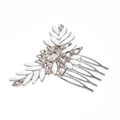 Chic Diamond Alloy Hair Clip Stylish Hair Pin for Women Girls Suitable for Different Hair Styles