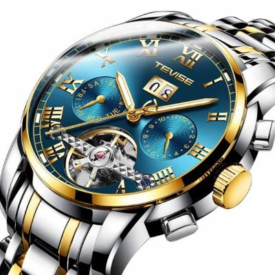 Men's Mechanical Watches Tourbillon Businessman Wrist Watch All Automatic Mechanical Watch
