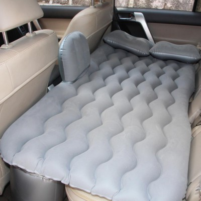 Upgraded Car Travel Inflatable Air Mattress Back Seat Portable Camping Bed Cushion with Back Support