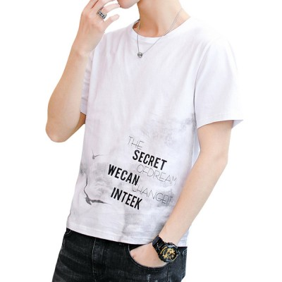 Men's T-Shirt With Round Collar &Short Sleeves New Fashionable Underclothes For Summer