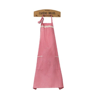 Lacework Edge Five Color Wave Point Apron Household Kitchen Used Pinafore Fashionable Kitchen Accessory