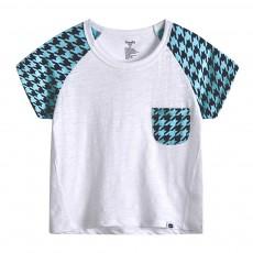 Pure Cotton Cartoon Short Sleeve T-shirt for Unisex Babies Wear in Summer Korean Style Waling Dress for Children Short Pants Children Wear