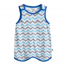 Pure Cotton One-piece Vest-type Baby Nightdress Sleeping Bag Babies Wear Thin Sleeveless Cartoon Sleeping Sack