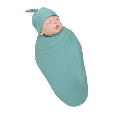 Baby Soft Sleeping Bag Wrap Cotton Spandex Material Prevent Shock Wind Wrapped Towels Shooting Prop for Baby 100 Days