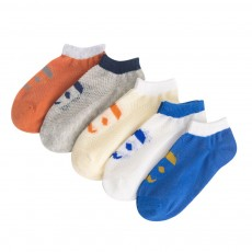 Children 's Thin Mesh Socks All-cotton Breathable Shallow mouth Cute Children's Socks For Summer