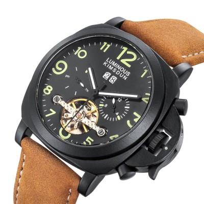 Fully Automatic Mechanical Watch Waterproof Night Light Business Men's Watch