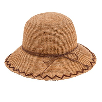 Summer Raffia Straw Hat for Women Large Brim Foldable Beach Hat All-match Sunscreen Bucket Cap Anti-UV Adumbral Cap