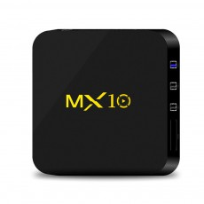 Tinkleo MX10 Kodi 17.1 Android TV Box 4G 32G RK3328 A53 3D 4K Wifi USB 3.0 With Remote
