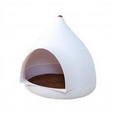 Seasonal Closed Pet Nest Summer Kennels Pet House for Small Dogs Droplet Shape Cat's Nest Bed