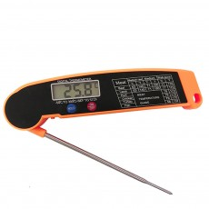 Meat Thermometer Fast Large LCD Digital Food Thermometer for Kitchen, Outdoor Cooking BBQ Grill