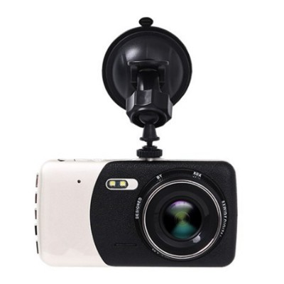4.0'' Dash Cam Portable Dashboard FHD 1080P Car DVR Recorder with 4Inch LED Screen, Night Vision, G-Sensor, Loop Recording, Motion Detection