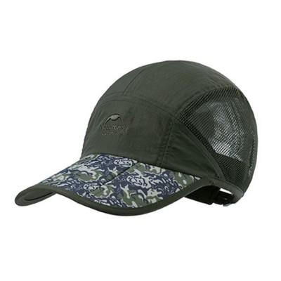 Summer Folding Peak Cap Unisex UV Protection Breathable Quick-dry Travel Sport Outdoor Baseball Hat