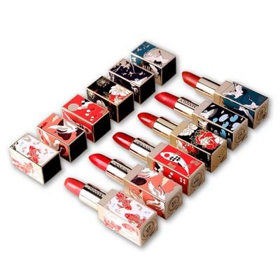 Chinese Palace Classic Style Non-stick Matte Makeup Lip Gloss Waterproof Long Lasting Private Label Lipstick Box Sets