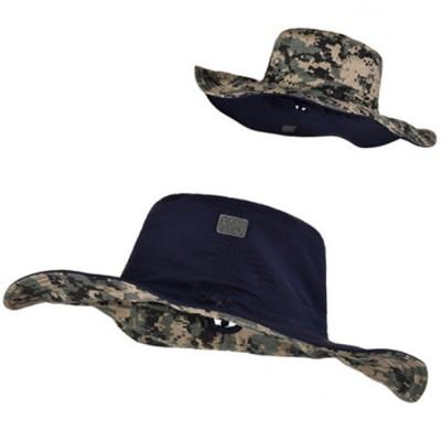 Male Sun Hat Sunscreen Summer Travel Seaside Big Edge Leisure Folding Windproof Sunshade Riding Mountaineering Hat