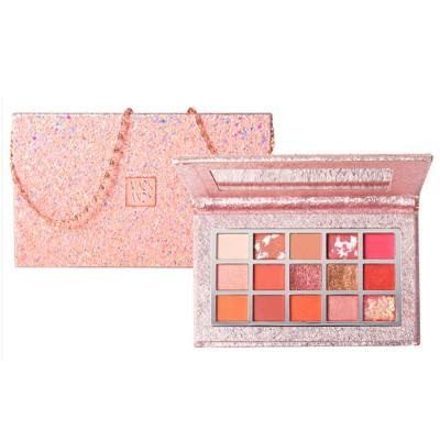 Cosmetics Makeup 15 Color Glitter Eyeshadow Waterproof Easy Clean Palette Eye Shadow Make Up Palettes