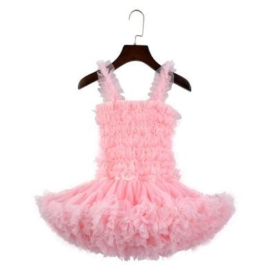 Delicate Gorgeous Girls Tutu Dress Children's Dresses Tutu Princess Mesh Skirt Kids Mini Dress
