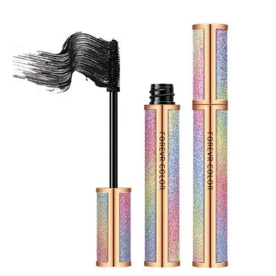 Makeup Cosmetics Eye Lash Black Waterproof Lasting Quick Dry Long And Curl Anti-sweat Easy Remove Fiber Mascara
