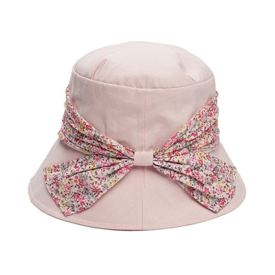Spring Summer Bucket Hat Foldable Sunbonnet for Women Beach Sea Outdoor Activities Sun-proof Sun Hat