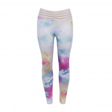 Women's Yoga Pants Tummy Control Butt Lifting High Waisted Breathable Workout Leggings Colorful Long Cropped Pencil Pant