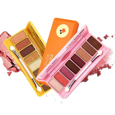 8 Colors Eye Shadow Palette, Waterproof Long Lasting Makeup Eyeshadow Palette, Colorful Cosmetics