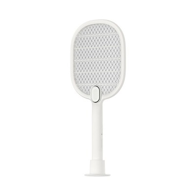 Electronic Mosquito Killer Swatter Metal Mesh Strong Light Mosquito Shoot Bat USB Charging Rechargeable Portable Durable Fly Insect Electric Swatter