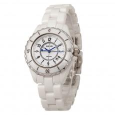 Female Ceramic Watch Women Ladies Fashion Watch with Diamond Waterproof