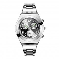 Diamond-encrusted Watch for Lady Luminous Hands Watch for Traveling Business Waterproof