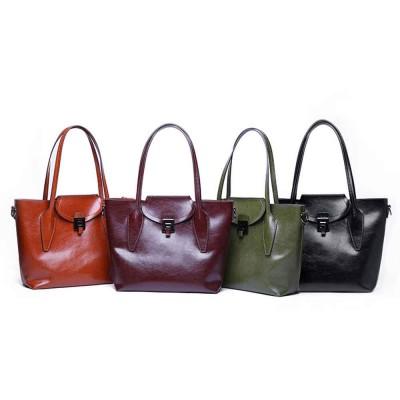 2019 Fashion Casual Women Large Bags Retro Hand-Held Bag Ladies Single Shoulder Classical Female Handbags