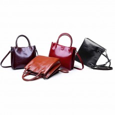 High Quality Leather Women Bag 2020 Fashion Retro Bags Female Single ShoulderHandbags Ladies Large Casual Bag