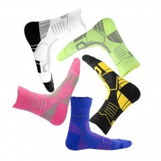 Sports Sucks for Hiking, Cycling, Running, Anti-bacterial Sports Socks for Men Women Unisex Digital Printing Socks