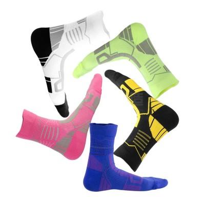 Sports Sucks for Hiking, Cycling, Running, Anti-bacterial Sports Socks for Men Women Unisex Digital Printing Socks