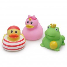 Mini Duck Bath Toy for Baby Shower Water Temperature Measurement Bathing Toy for Baby